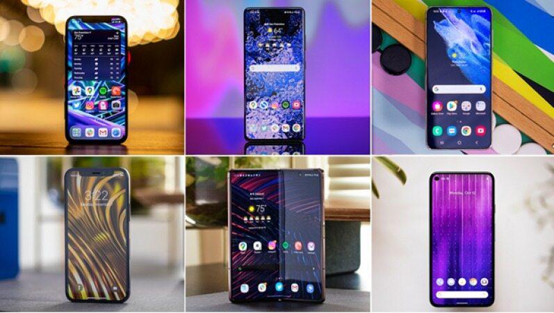 بهترین گوشی های سال 2021