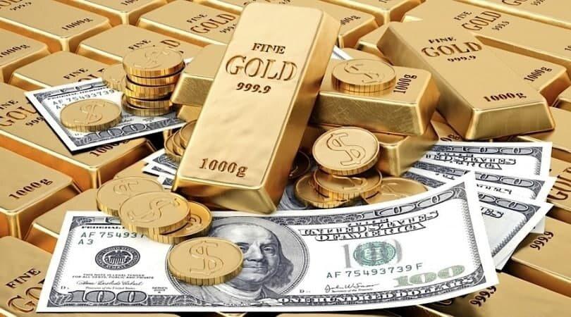 صعود قیمت طلا ،سکه و دلار در معاملات 21 اردیبهشت