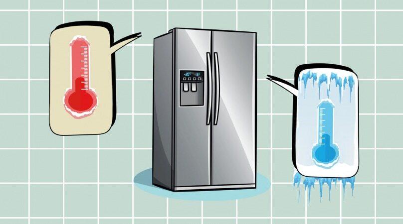 بهترین دمایی که باید یخچال را بر روی آن تنظیم کنید چقدر است؟
