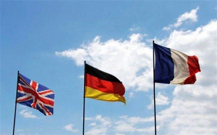 تروئیکای اروپایی: به صورت فشرده سرگرم احیای برجام هستیم