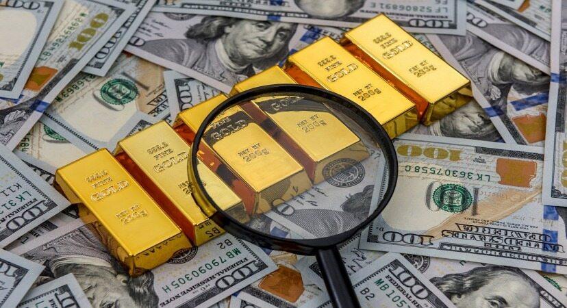 قیمت طلا در پایین ترین سطح چهار هفته اخیر قرار گرفت