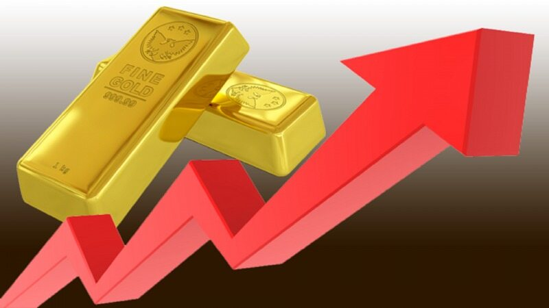 صعود شدید قیمت طلا در معاملات امروز