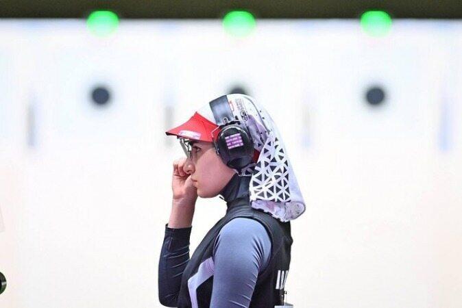 هانیه رستمیان به فینال تپانچه ۲۵ متر المپیک ۲۰۲۰ نرسید