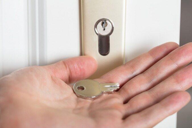 کلید شکسته