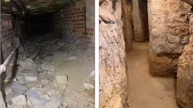 مردی که در زیرزمین خانه اش چیزهایی دید که هرگز فکرش را نمی کرد
